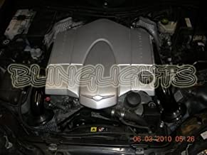 BlingLights Carbon Fiber Air Intake Compatible with 2004-2008 Chrysler Crossfire 2005 2006 2007