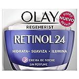 OLAY Regenerist Retinol Plus 24, Crema Hidratante De Noche sin Fragancia, 50ml