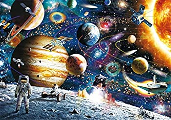 Berkshiled 1000-Pieces Space Traveler Jigsaw Puzzles for Adults & Kids