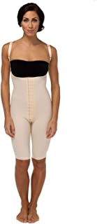Marena Recovery Knee-Length Post Surgical Compression Girdle with High-Back