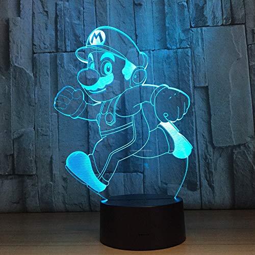 Neuheit Beleuchtung Bruder Tischlampe Touch Sensor Lampe Nachtlicht Atmosphäre Dekoration Lampe...
