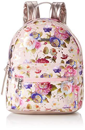 Tamaris Damen Volma Backpack Rucksackhandtasche, Pink (Rose Comb.), 15x28x24 cm
