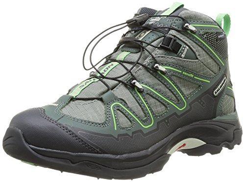 SALOMON X Tiana Mid WP Ladies Hiking Shoes Eula Wickliffe