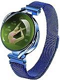 Z38 Reloj Inteligente Mujeres Monitor de Ritmo Cardíaco Presión Arterial Reloj Inteligente Pulsera Fitness Sleep Tracker Ip67 Impermeable Relojes Deportivos Exquisito/C-C