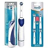 Dental Source Pack Cepillo eléctrico de regalo + 4 Recambios TOTAL CLEAN, Cabezales para Oral-B...