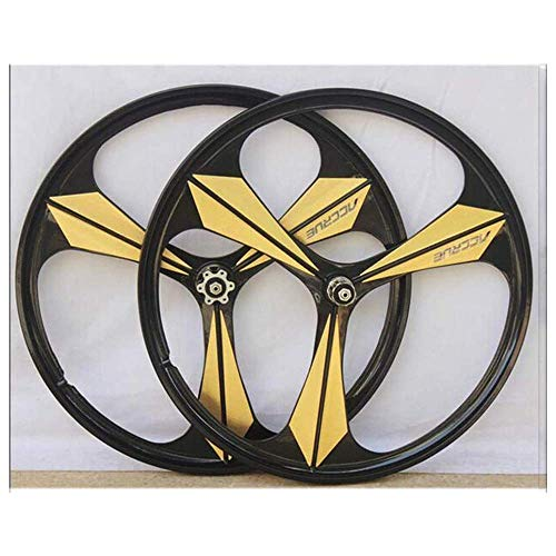 TYXTYX Rueda de bicicleta Valor recomendado Mibing aleación de magnesio 26 pulgadas Mountain Bike Wheel Set MTB Bike Wheelest