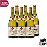Côtes du Rhône Blanc 2018 - Maison Guigal - Vin AOC Blanc de la Vallée du Rhône - Cépages Viognier,...