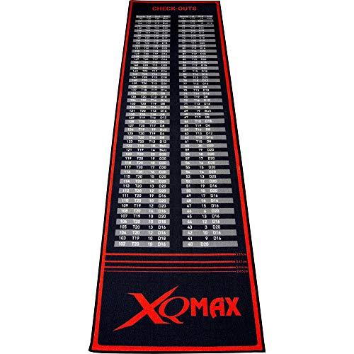 XQmax Check-Out Dart Matte Teppich, rot