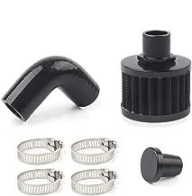 SPEEDWOW CCV Open Breather Kit Filters Crankcase/Ventilation For 07.5-2015 Dodge 6.7L Cummins Glacier Diesel
