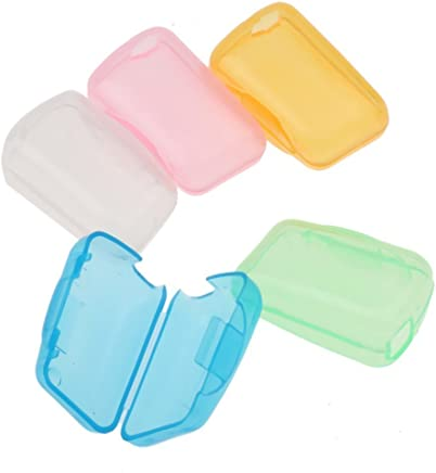 Sonline 5Pcs Travel Portable Toothbrush Head Covers Case Protective Preventing Molar