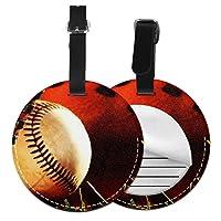 ネームタグ バッグ用ネームタグ 野球30, ネームプレート スーツケース 紛失防止 旅行 出張 対応用 荷物タグ