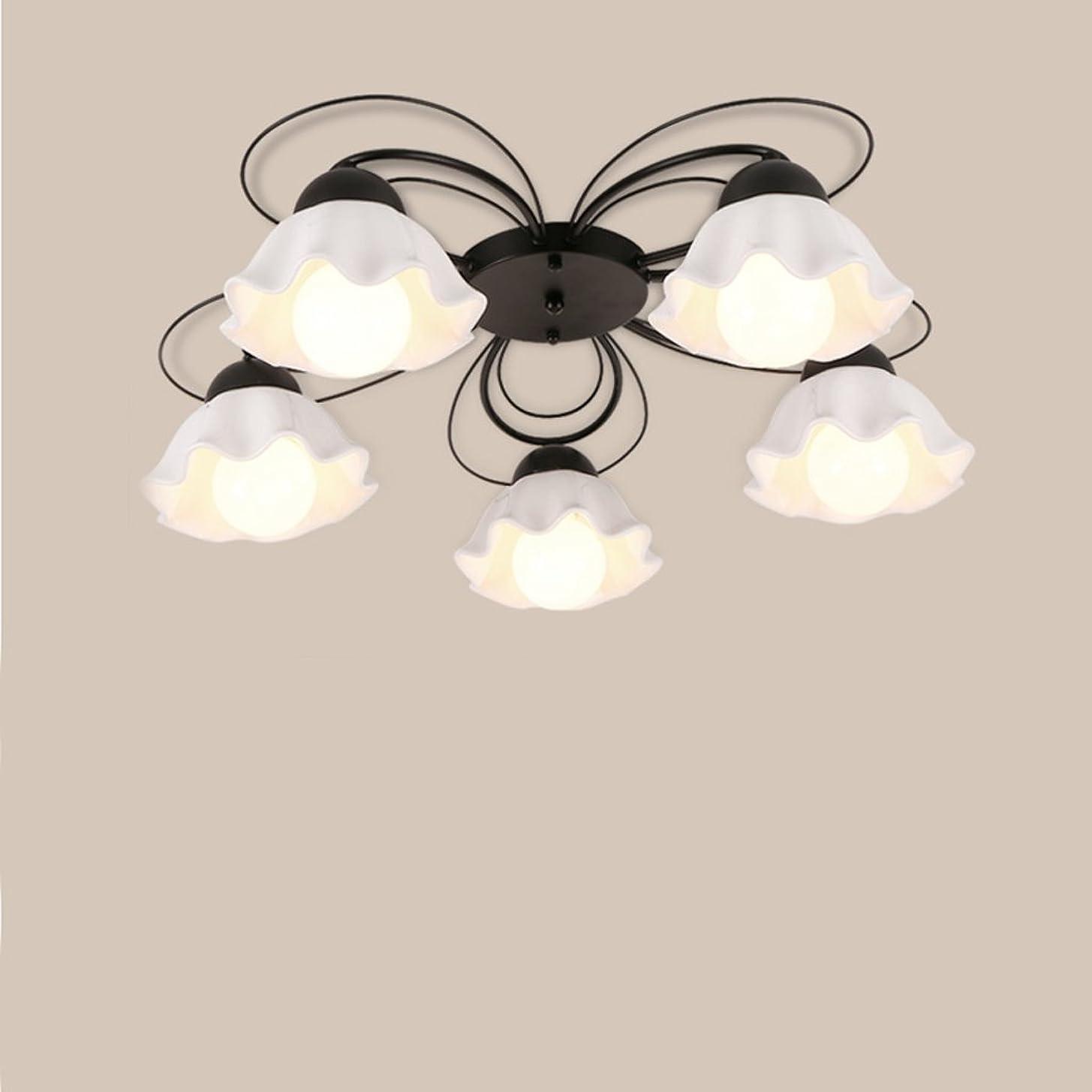 比喩子豚巻き取りYSYYSH ミルキーガラスランプシェードファッションアメリカンシーリングランプシンプルな北欧ガラスLEDリビングルーム暖かい寝室ルーム通路天井ランプ 寝室の装飾ライト