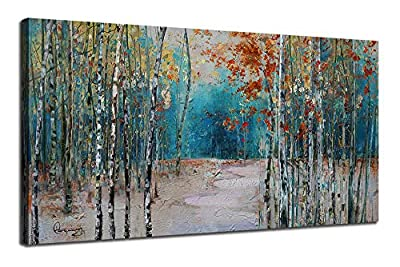 Ardemy Canvas Wall Art Artwork Painting Prints Modern Landscape Picture Framed Ready to Hang for Living Room Bedroom Kitchen Office Home Decorations-40 x20 One Panel, Waterproof by