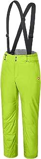 qualidyne Women's Ski Bib Pants Snow Pants - Winter Waterproof Insulated Warm Detachable Suspender Ski Pants.