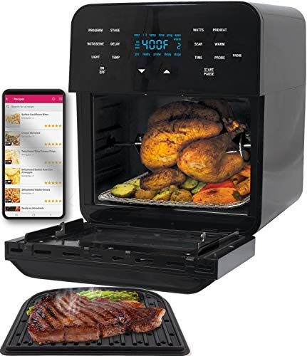 NUWAVE BRIO 15.5-Quart Large Capacity Air Fryer Oven with Digital