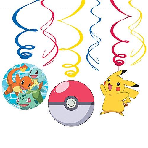 Amscan International 9904831 Confezione di 24 bomboniere assortite Pokemon