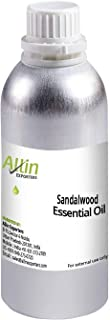 Allin Exporters Sandalwood Oil for Massage, Spa, Aromatherapy, Skin & Hair 100% Natural Essential Oil for Men & Women (500...