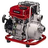 Einhell Motopompa GC-PW 16 (1,6 kW, valvola di riempimento dell'acqua, tappo a vite di scarico dell'acqua, incl. 2 adattatori per tubo flessibile + fascette, filtro a cestello di aspirazione)