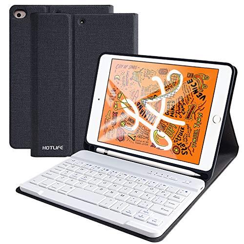 iPad mini5/ mini4キーボードケース mini 4/5対応キーボードカバー 着脱式キーボードスタンド機能付き アップルペンシル収納可能 分離式 アイパッド MINI 4/MINI 5 7.9インチ ケース プロ キーボード付き ペンホルダー内