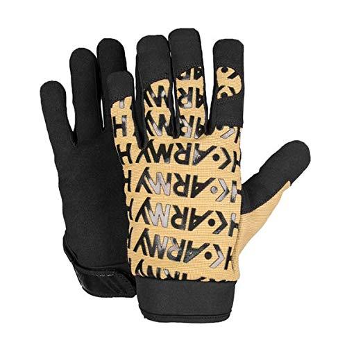 HK Army Handschuhe HSTL Line Gloves Vollfinger schwarz/braun, Größe:M