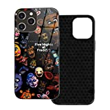 Five Nights at Freddy's for iPhone 12 /12Mini / Pro/Pro Max Case Shockproof Protection Cover,which is Stylish and TPU Plastic Case Cover,Built-in Screen Protector Cover Iphone12-6.1