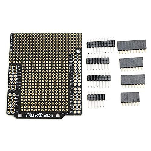 Für Arduino – Produkte, die mit offiziellen Arduino Boards DIY PCB Expansion Board Kit kompatibel UNO R3 Expansion Board Modul