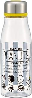 スケーター 直飲み ウォーターボトル 500ml 茶漉し付 水筒 スヌーピー モノクロ Peanuts PTY5