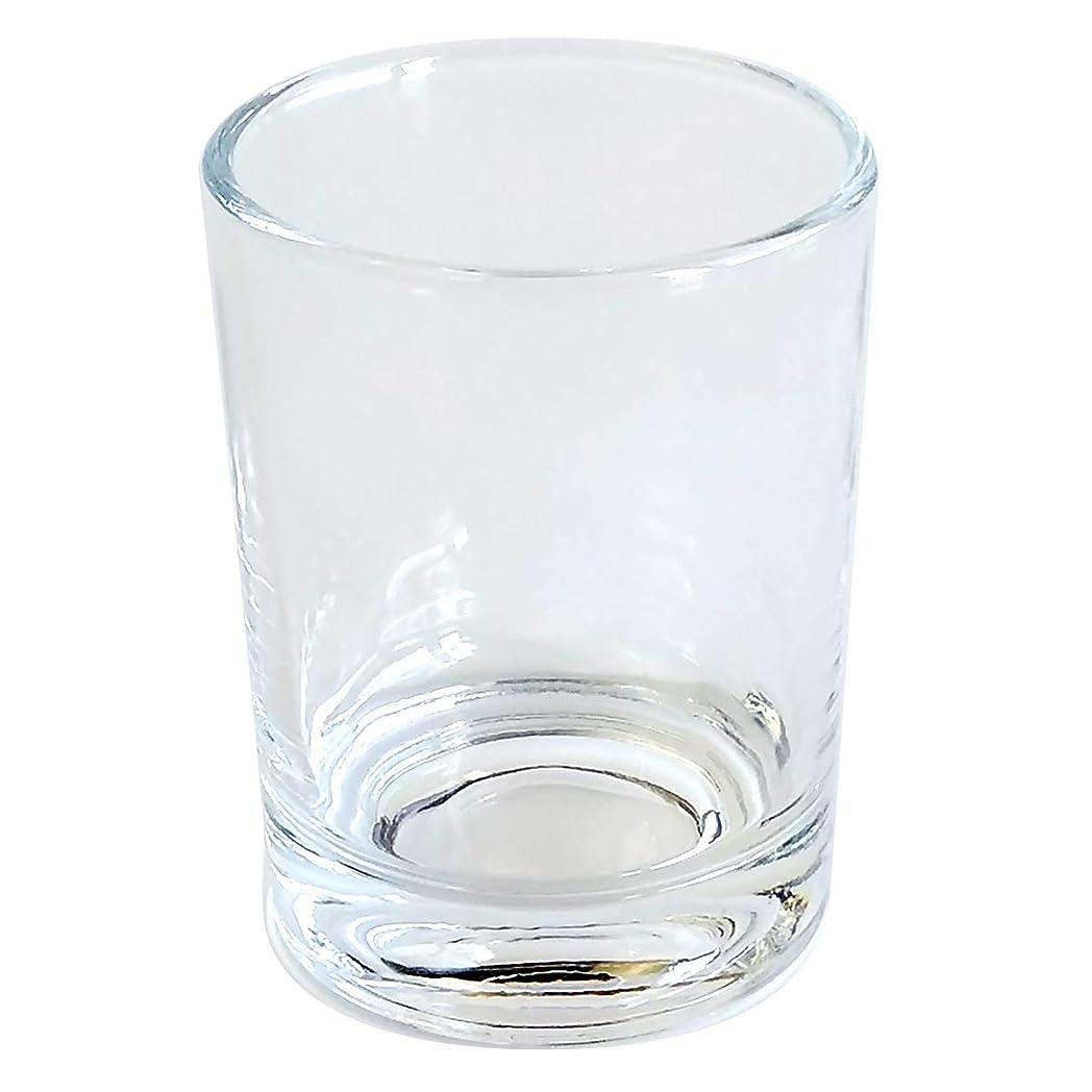 キャンドルホルダー ガラス シンプル[大] 1個 キャンドルスタンド ろうそく立て おしゃれ