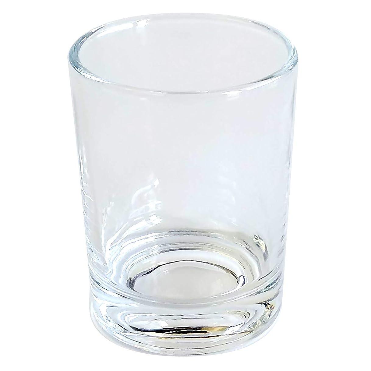 クリスチャンパールケーブルキャンドルホルダー ガラス シンプル[大] 1個 キャンドルスタンド ろうそく立て おしゃれ