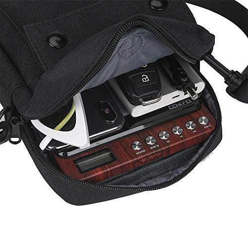 Portable CD Player Bag/Case, CD Player/Walkman Shoulder Bag, Compatible with Gueray/Jinhoo/HOTT/Jensen/NAVISKAUTO/Monodeal Portable CD Player and More
