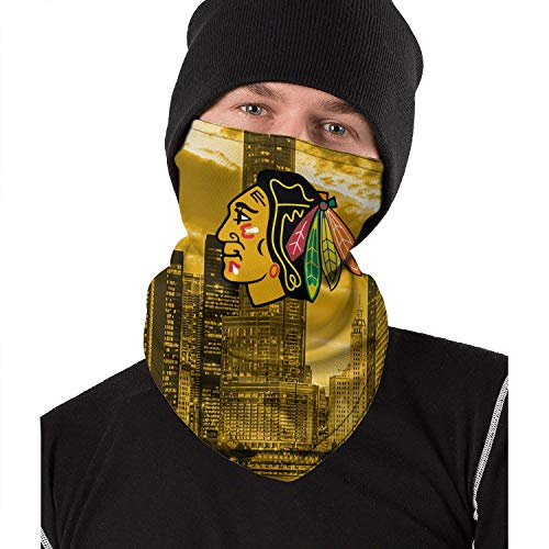 American Hockey Team Classic Half Face-Mask Balaclava Scarf Neck Gaiter for Dust Windproof Outdoor