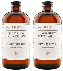 Finally, a tonic that's equal to even the finest gin Featuring a backbone of quinine layered with a delicate mix of botanicals and just the right amount of real cane sugar, this tonic concentrate turns even a basic Gin and Tonic into a gourmet experi...