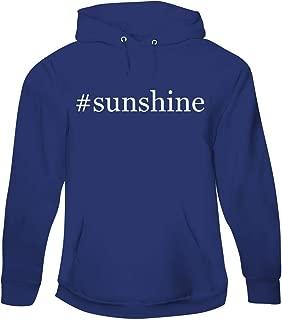 #Sunshine - Men's Hashtag Pullover Hoodie Sweatshirt