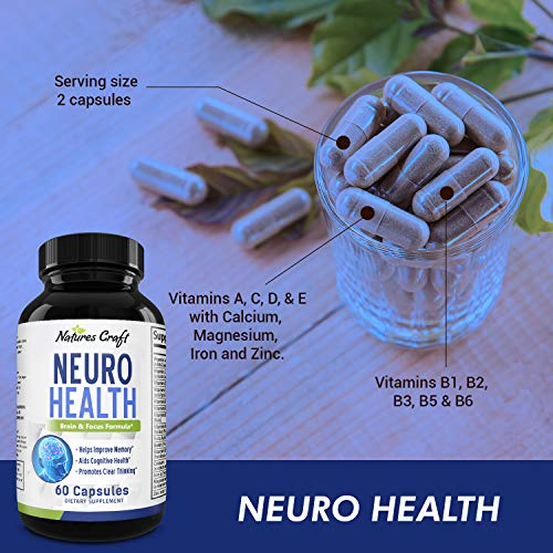 Natures Craft Mind-Enhancing Supplement