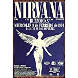 Wise Degree Band Sticker Nirvana Band Metall Poster Wand