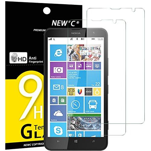 NEW'C 2 Unidades, Protector de Pantalla para Nokia Microsoft Lumia 1320, Antiarañazos,...