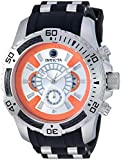 Invicta Men's Star Wars Stainless Steel Quartz Watch with Silicone Strap, Black, 25.8 (Model: 26177)