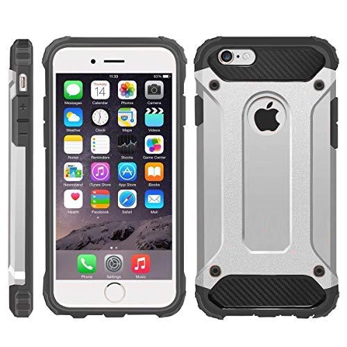 Cover protettiva per iPhone 5/5S/SE modello Survivor, stile militare, resistente agli urti, a doppio strato, in plastica rigida