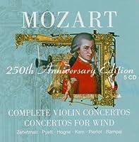 Mozart: Complete Violin Concertos / Concertos for Wind - 250th Anniversary Edition (2005-09-19)