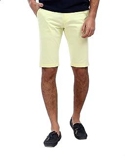 Andora above Knee Length Gabardine Shorts for Men