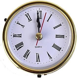 Classic Clock Craft Quartz Movement 2-1/2 (65mm) Round Clocks Head Insert Roman Number