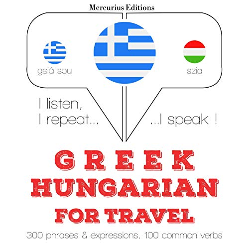 Couverture de Greek - Hungarian. For travel