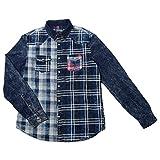 Desigual - Camisa Napkin Denim Nc azul L