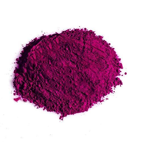 Thermochromes Pigment für Farbstoff, Farbe und Kunstharz, thermische Farebveränderung, Dunkellila zu Neonpink, 10Gramm, von SFXC®