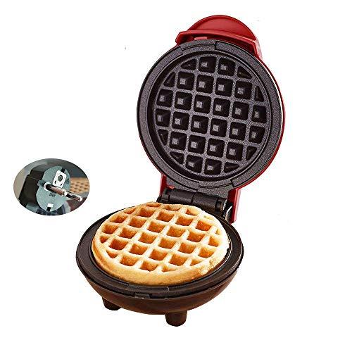 Mydee Gofrera Electricas Profesional Maquinas Mini Waffle Maker 3 en 1 Soldador De Gofres Revestimiento Antiadherente RockStone, Termostato,aptas para Lavavajillas, 350W