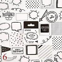 NELL46 ピース/箱かわいい猫付箋かわいい文房具弾丸ジャーナルステッカー子供のための DIY 日記スクラップブックの装飾用品ノート用紙
