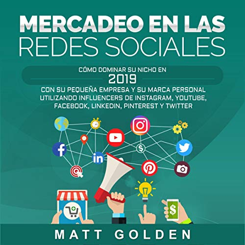 Mercadeo en las redes sociales [Social Media Marketing] cover art