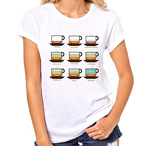 Soorten koffie T-Shirt Womens Classic T-Shirt
