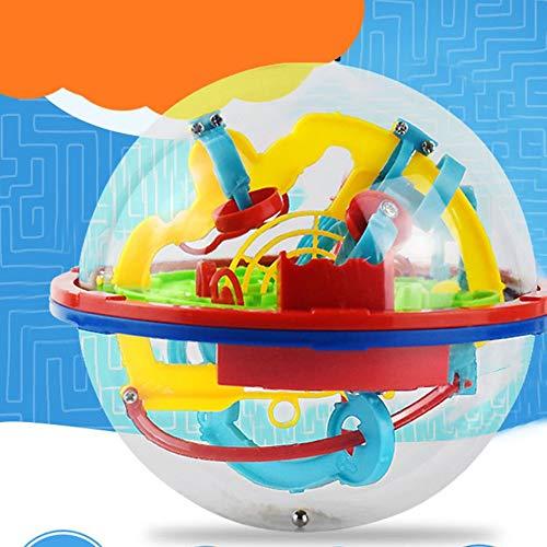 #N/A 3D Puzzle Magic Maze Ball 299 Nivel Perplexus Intelecto Mágico Bola de Mármol
