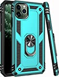 iPhone 11 Pro Max Case Teal Green,15ft Drop Tested,LUMARKE Military Grade Shockproof Rugged Dual Layer Plastic TPU Cover with Kickstand Protective Phone Case for iPhone 11 Pro Max 6.5 inch 2019